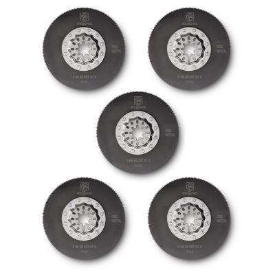 3-3/8 in. HSS Saw Blade Starlock (5-Pack)