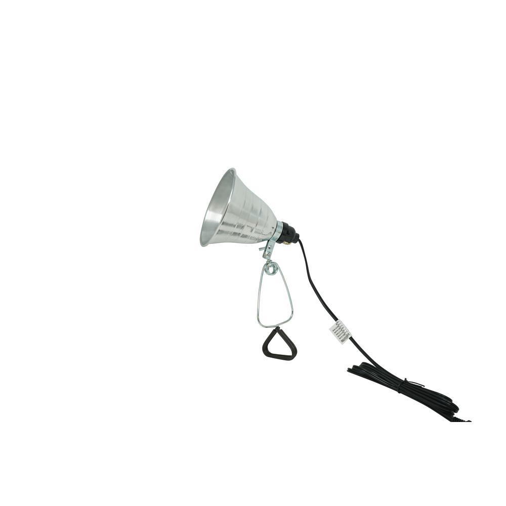 Designers Edge 108 Led 7 4 Volt Rechargeable Portable Work: Husky 75-Watt Metal Shield Incandescent Trouble Light-HD
