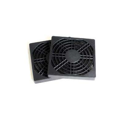 80 mm Fan Filter, Black