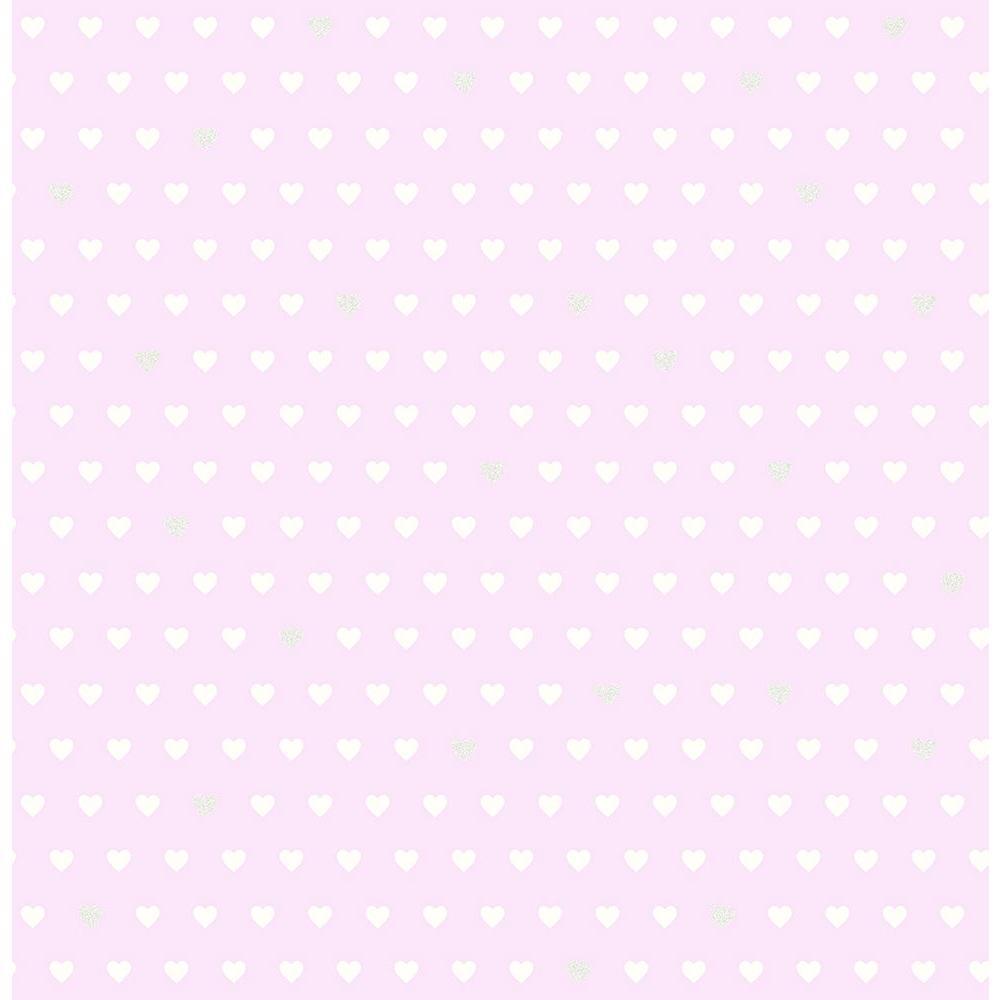 Purple Small Hearts Wallpaper Sample