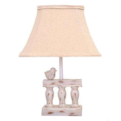 15.5 in. Multi-Colored Table Lamp