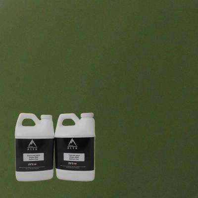 1-gal. Olive Green Paint Wrap Kit Removable Paint