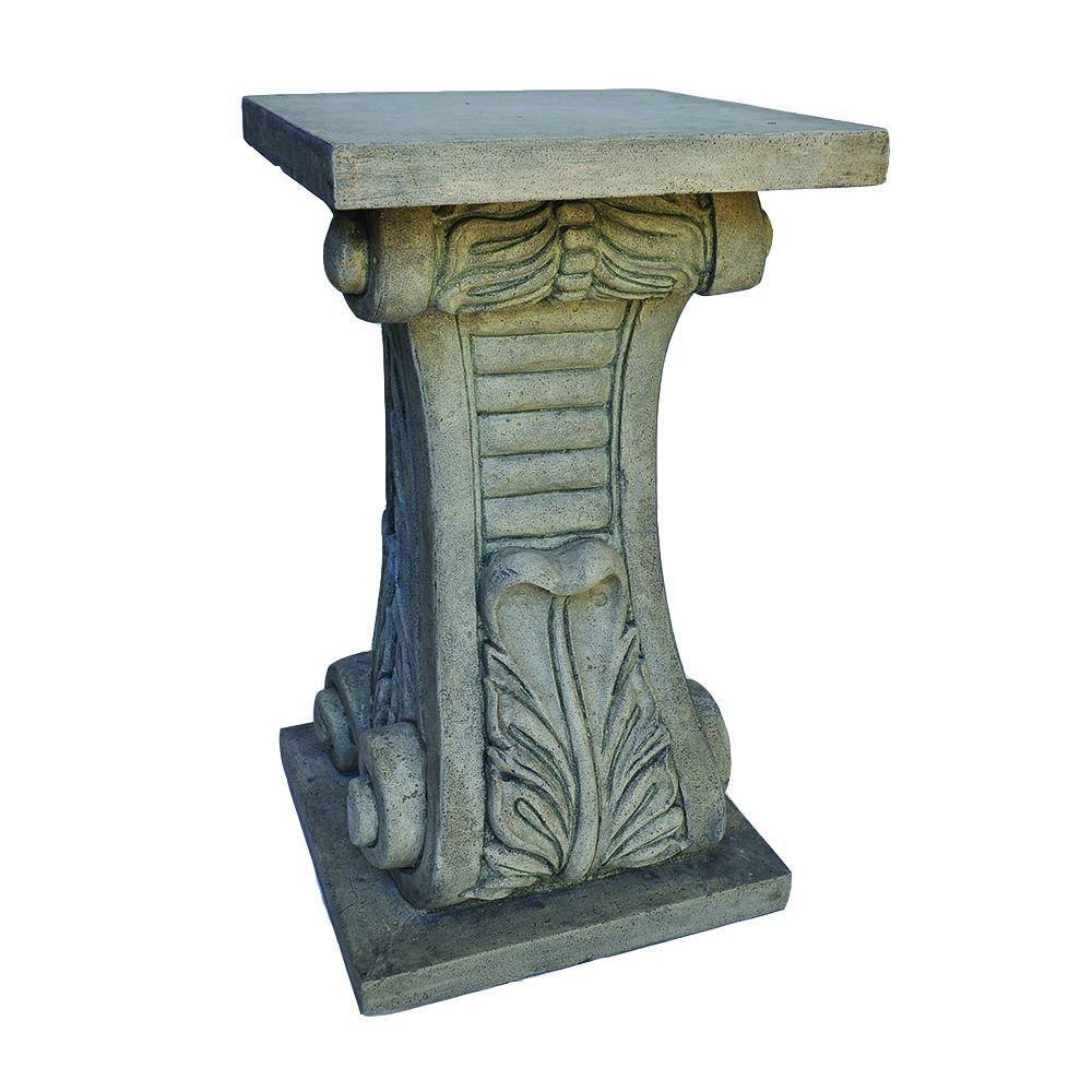 MPG 24 in. H Granite Cast Stone Classic Pedestal