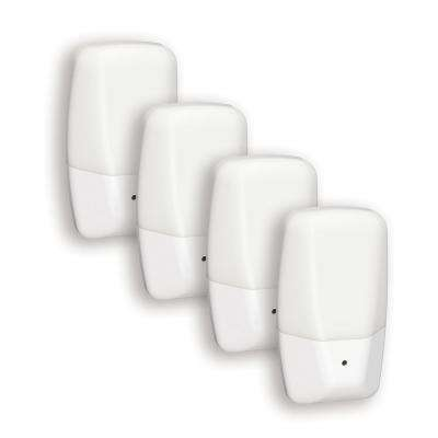 Frosted Aria Curve LED Night Light (4-Pack)