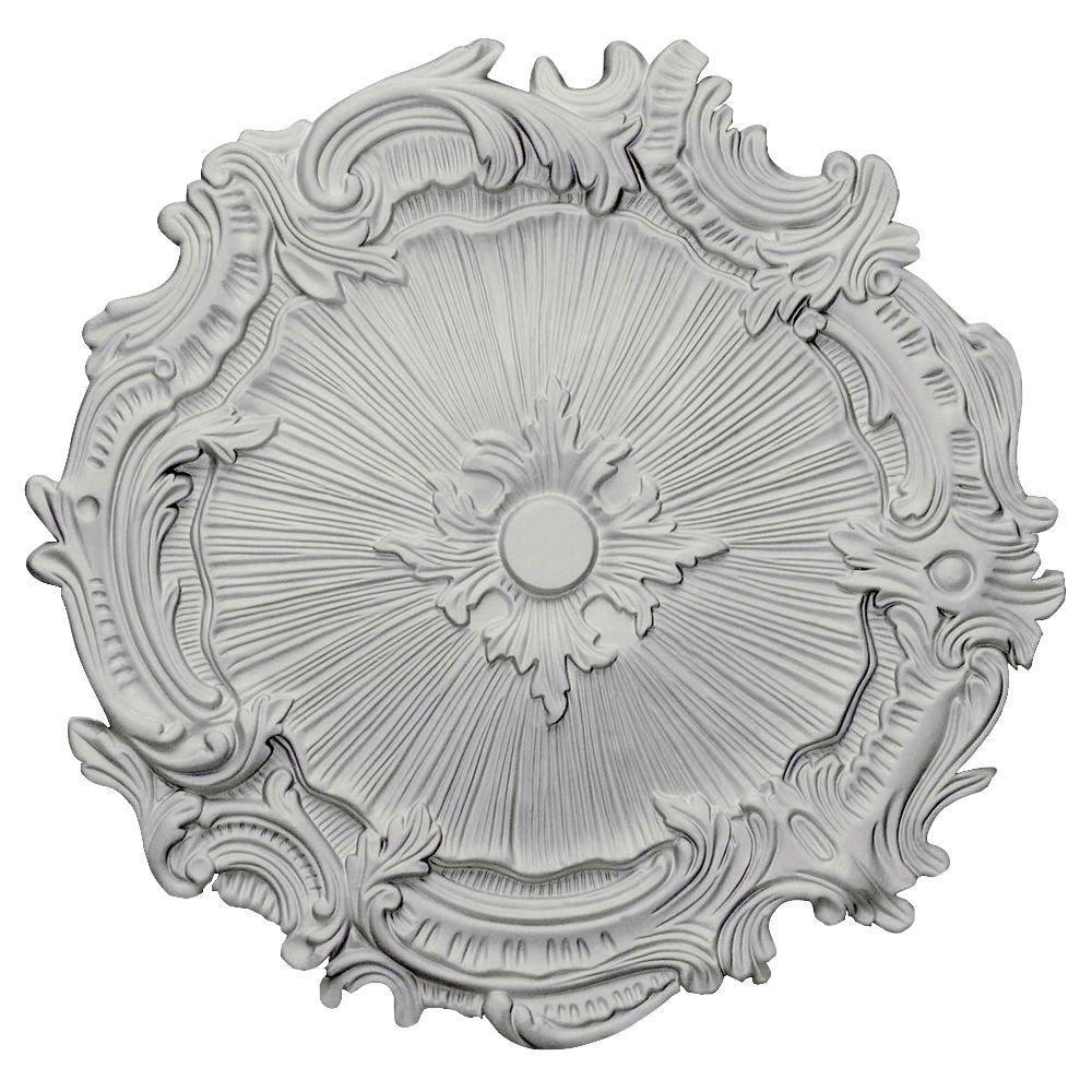 Ekena Millwork 16-3/4 in. Plymouth Ceiling Medallion
