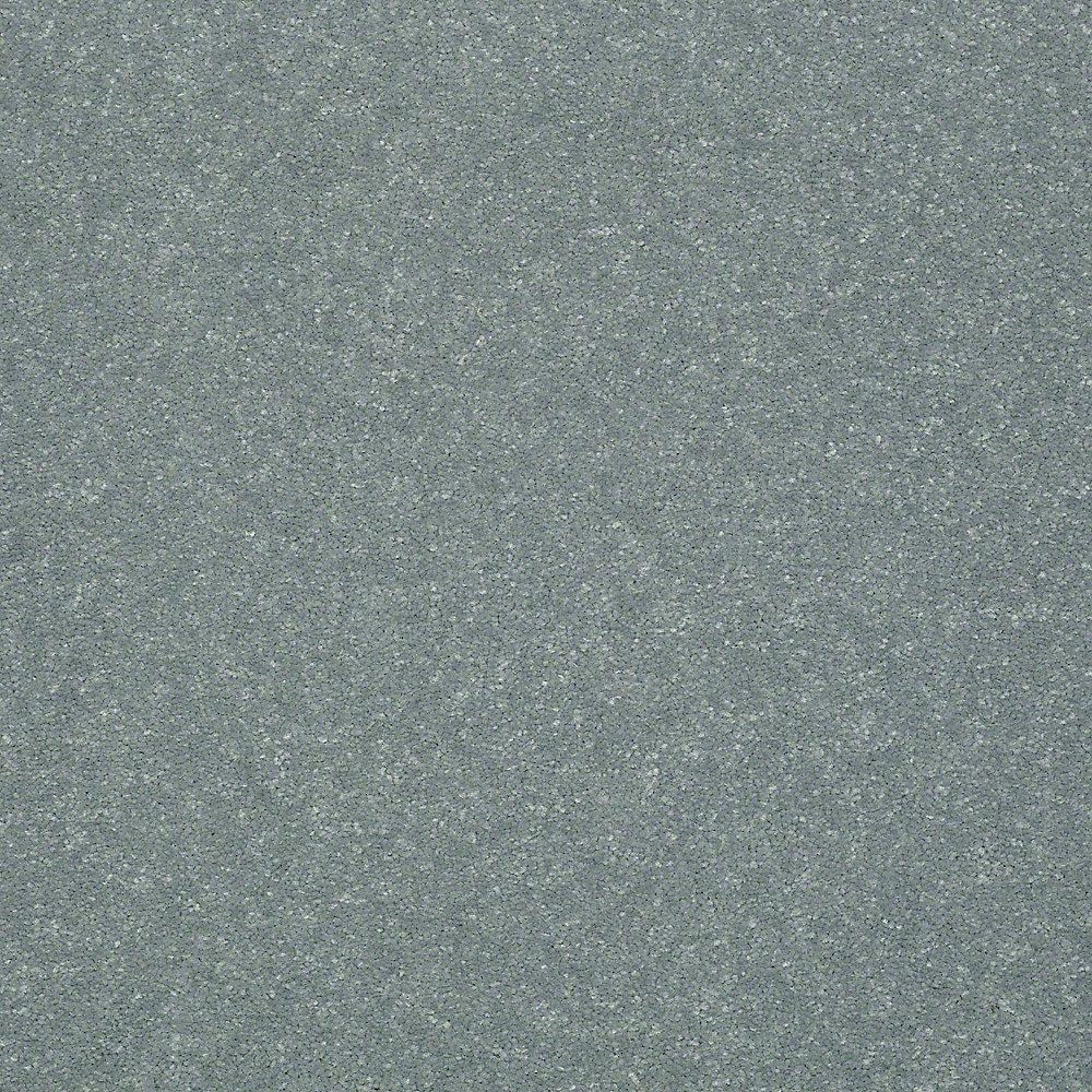 Home Decorators Collection Full Bloom II - Color Arctic Mist Texture 12 ft. Carpet