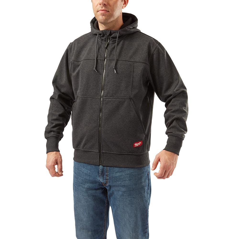 Milwaukee Men's Xtra-Large Black NO DAYS OFF Hooded Sweatshirt