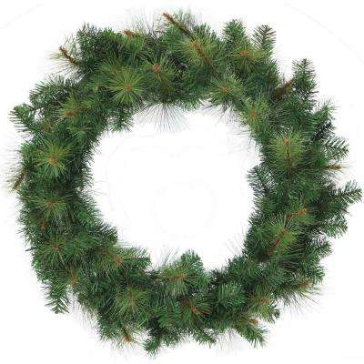 36 in. Southern Peace Artificial Holiday Wreath