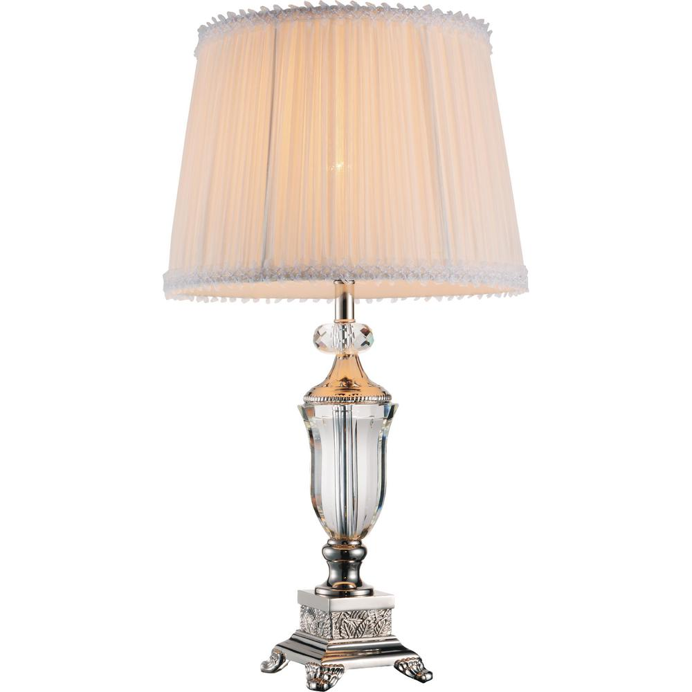 white brushed lamp lighting lessina nickel endon lights amp table by interior faux vintage touch image silk lamps room