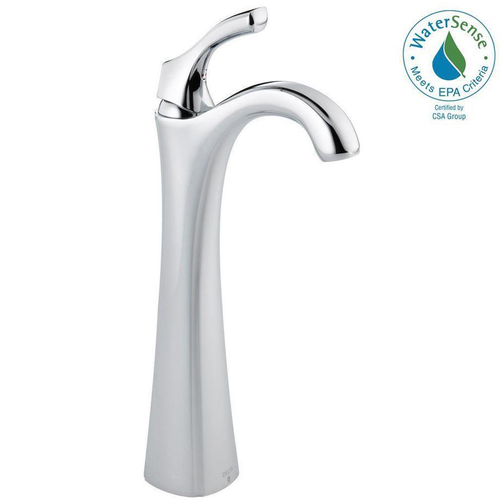 Addison Single Hole Single-Handle Vessel Bathroom Faucet in Chrome