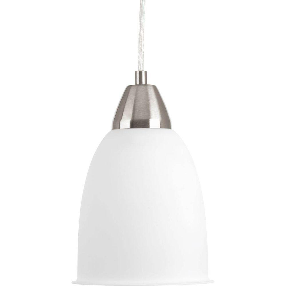 Simple Pendant Light: Progress Lighting Simple Integrated LED Collection 1-Light
