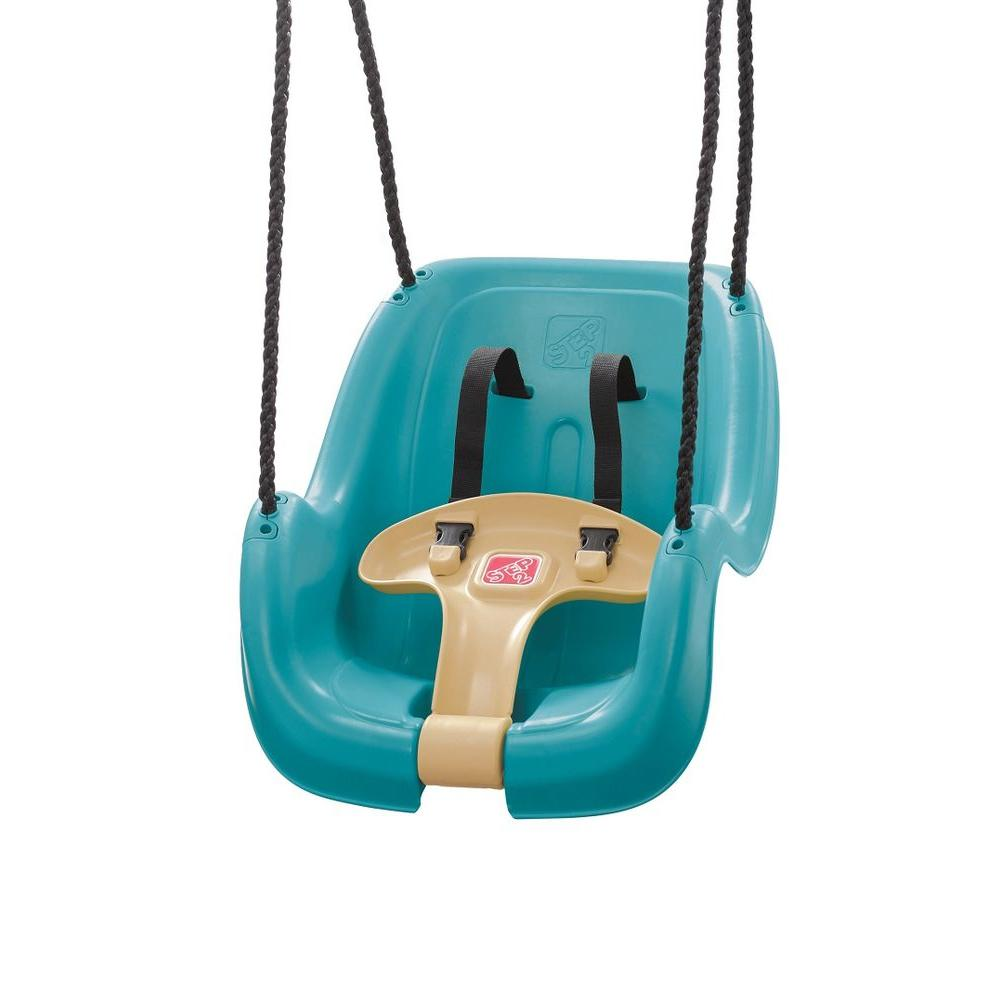 Outdoor Baby Swing >> Step 2 Infant Toddler Swing In Turquois