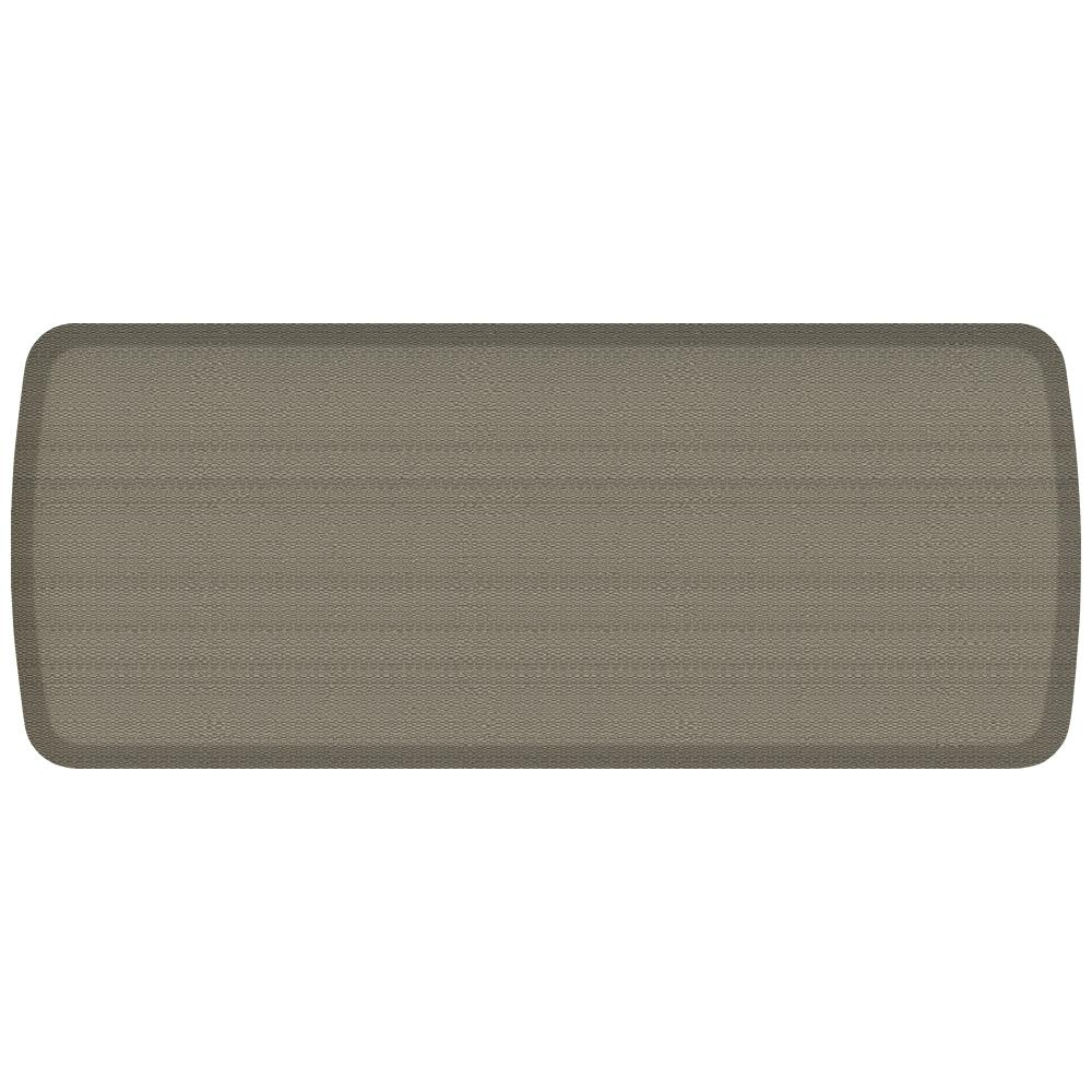 GelPro Elite Rattan Galveston Grey 20 In. X 48 In. Comfort Kitchen Mat