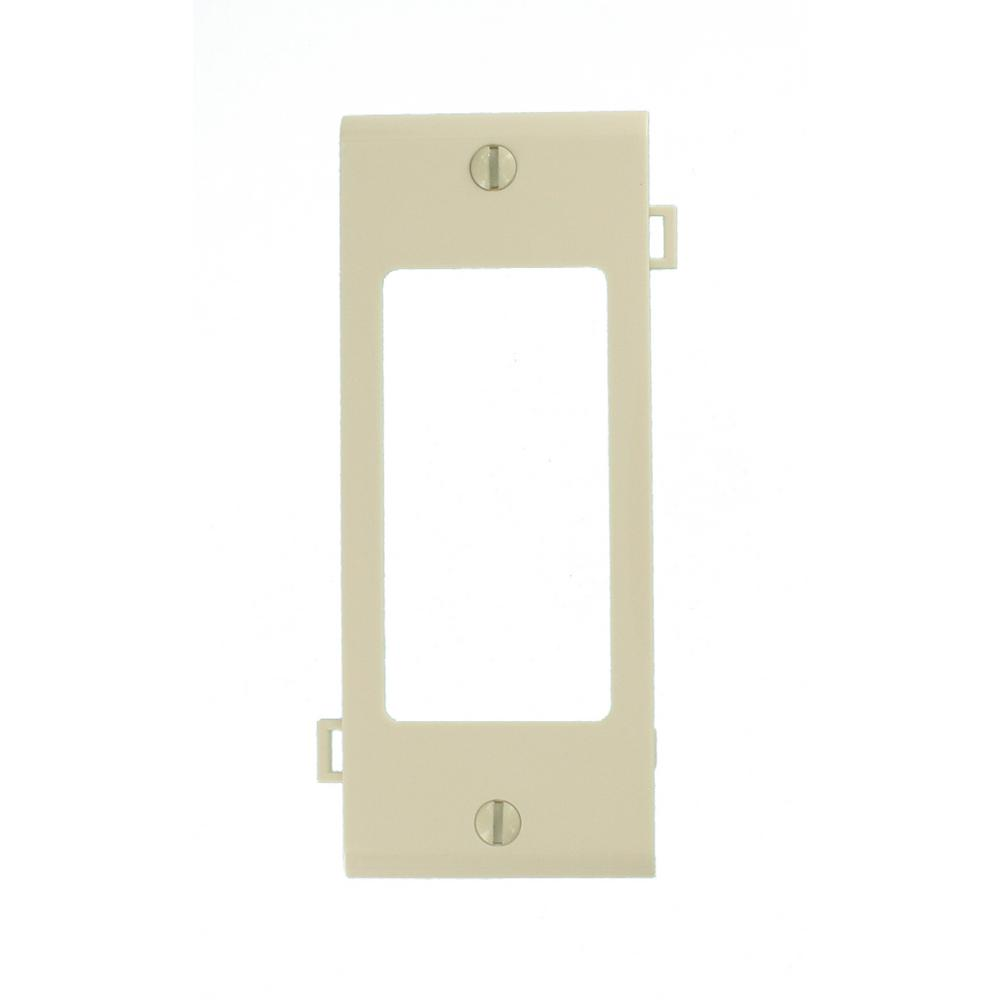Leviton Sectional 1 Gang Center Decora Nylon Wall Plate