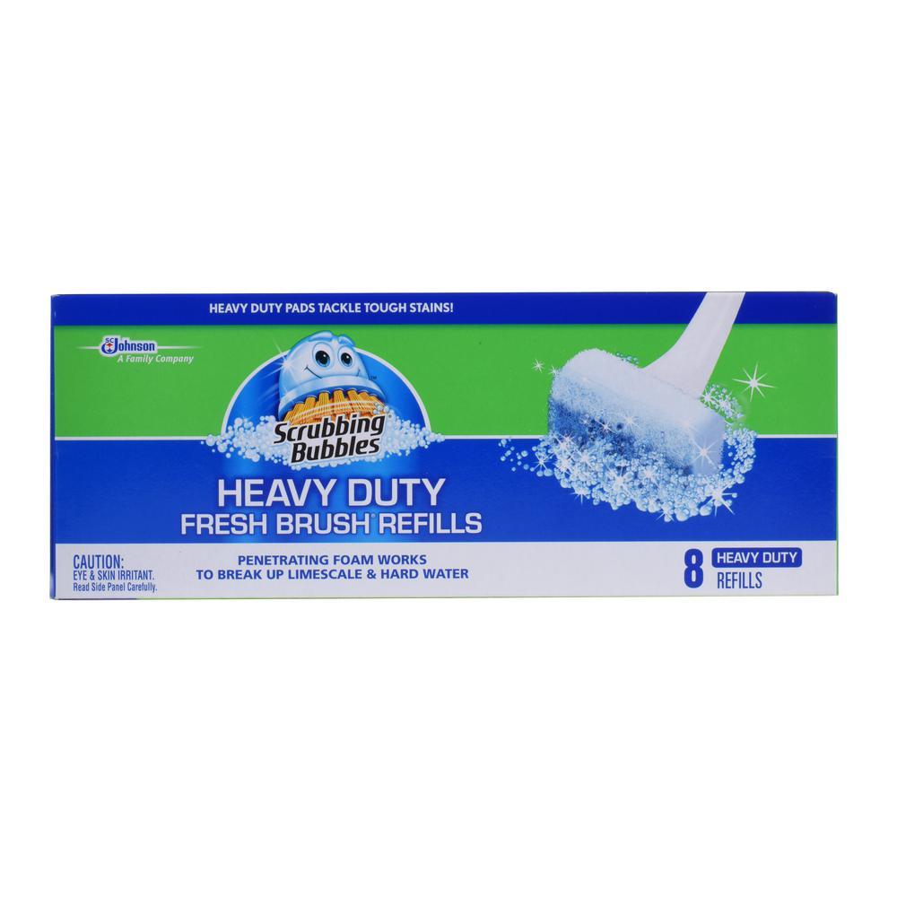 Heavy Duty Fresh Brush Refills (Case/8) (8-Pack)
