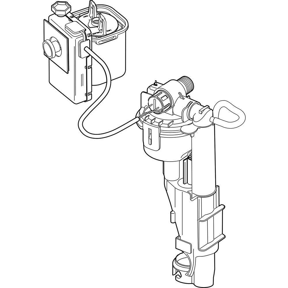 Brevard FlushIQ Fill Valve/Flush Actuator