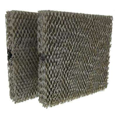 Replacement for Aprilaire 10 Models 110, 220, 500, 550, 558 Humidifier Filter (2-Pack)