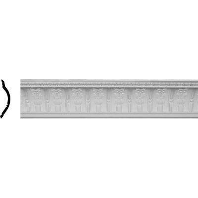 7-1/2 in. x 9-1/4 in. x 95-7/8 in. Polyurethane Titus Crown Moulding