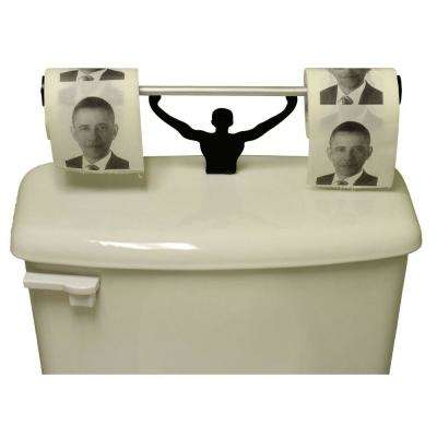 Barack Obama Toilet Paper in Multi-Color with Strong Man Holder Obamacare Gift Set