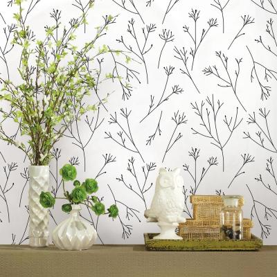 28.29 sq. ft. Twigs Peel and Stick Wallpaper