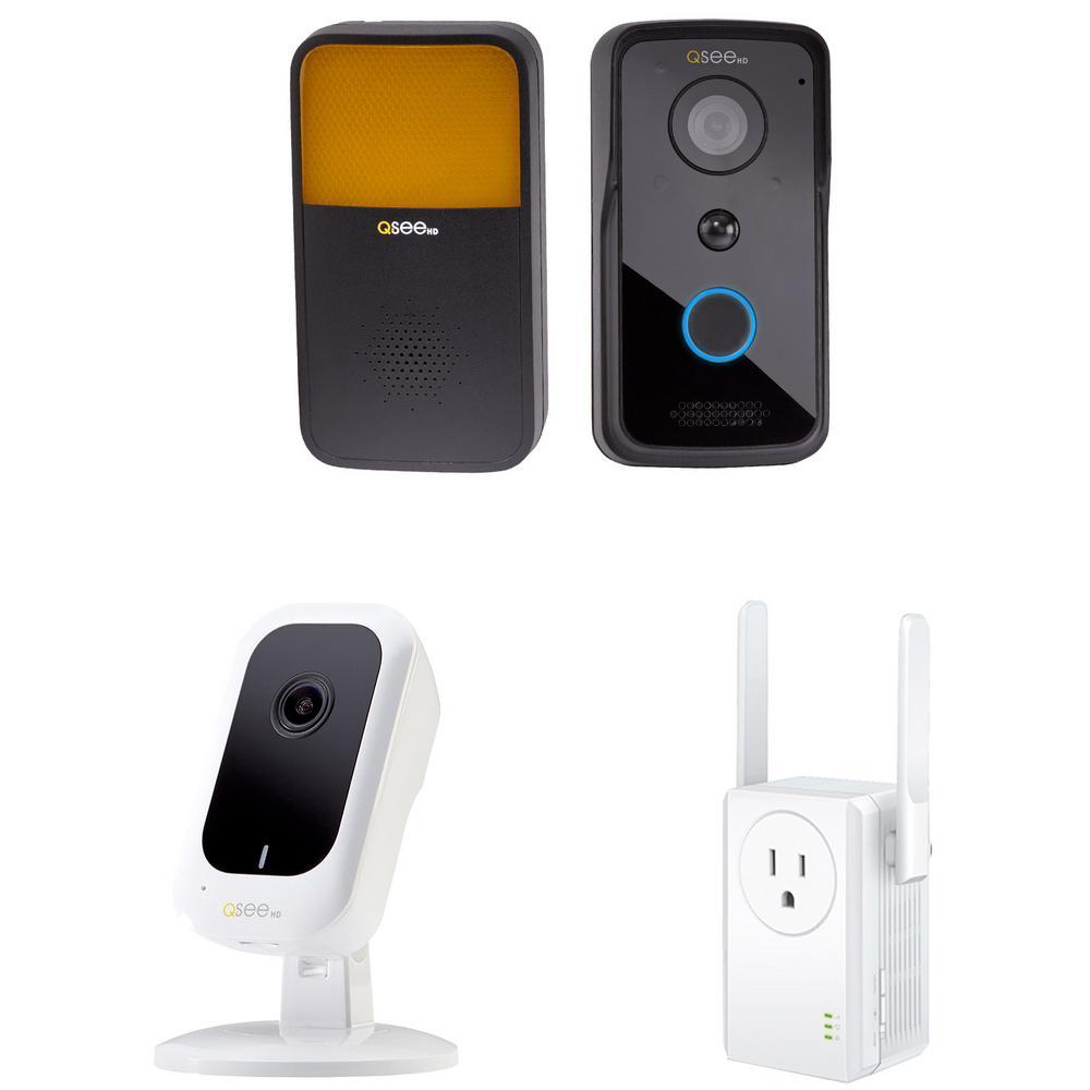 3MP Wi-Fi Mini Camera with 16GB SD Card and 720p Wi-Fi