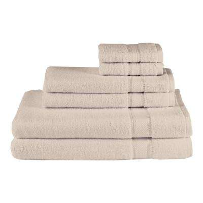 Solid 6-Piece Sand Towel Set