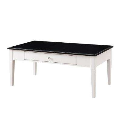 Regency White Coffee Table