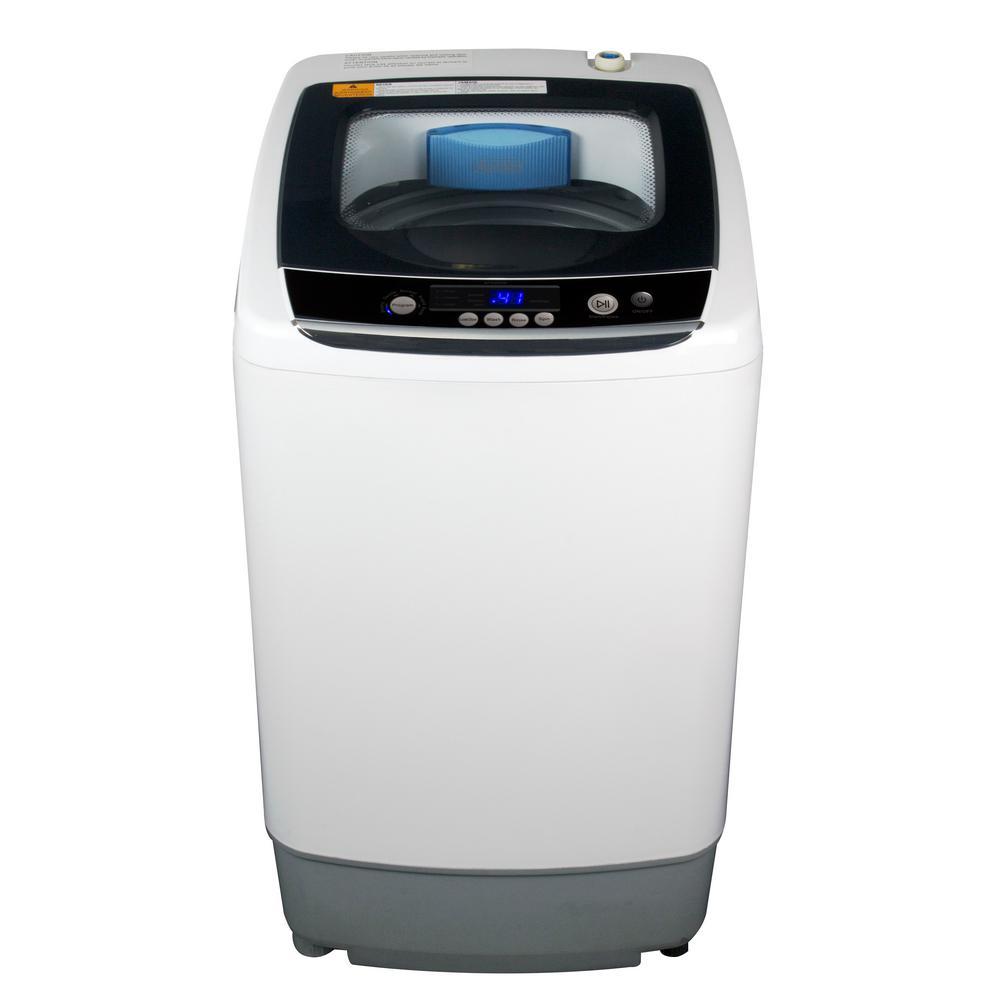 BLACK+DECKER 17.69 in. W 0.9 cu. ft. White Portable Top Load Washing Machine