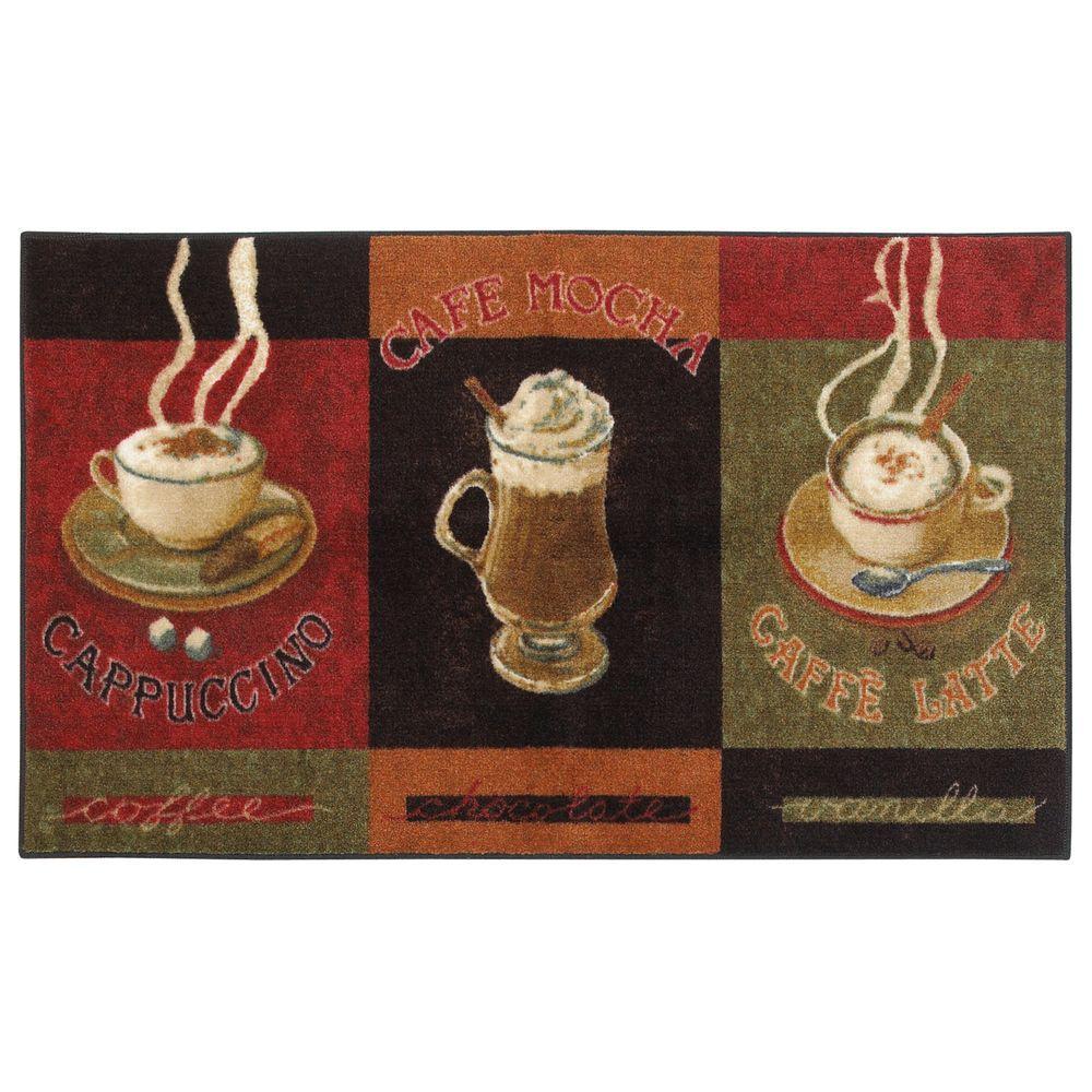 Caffe Latte Primary 3 ft. x 4 ft. Indoor Area Rug