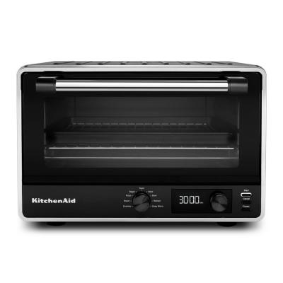 Matte Black Digital Countertop Oven
