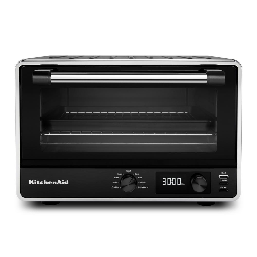Kitchenaid Matte Black Digital Countertop Oven Kco211bm