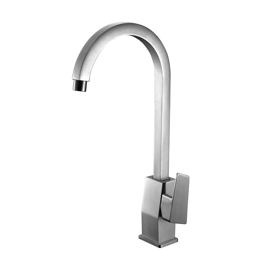 alfi brand single hole single handle bathroom faucet in. Black Bedroom Furniture Sets. Home Design Ideas