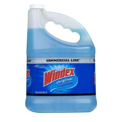 128 oz. Commercial Line Original Powerized Glass Cleaner Refill (4-Pack)