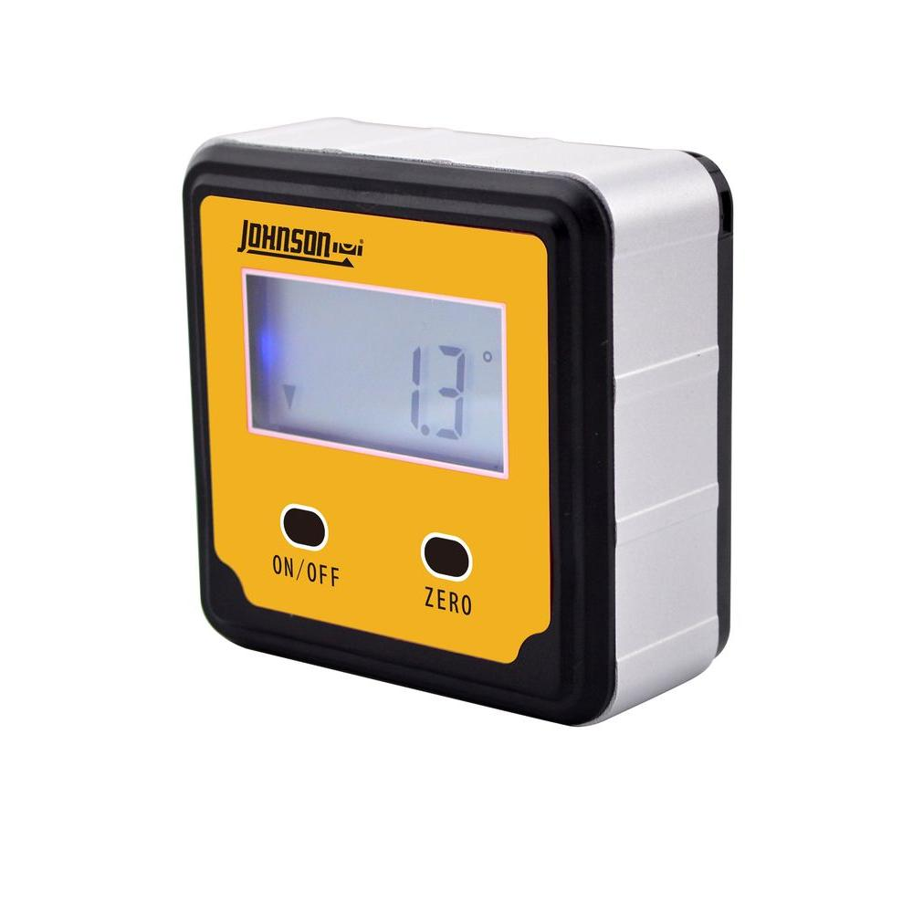Digital Angle Finder >> Johnson 2 Button Magnetic Digital Angle Locator 1886 0000 The Home