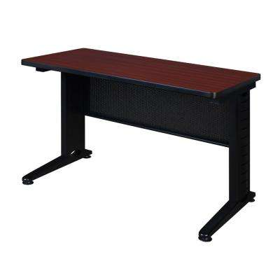 Fusion Mahogany 42 in. W x 24 in. D Training Table