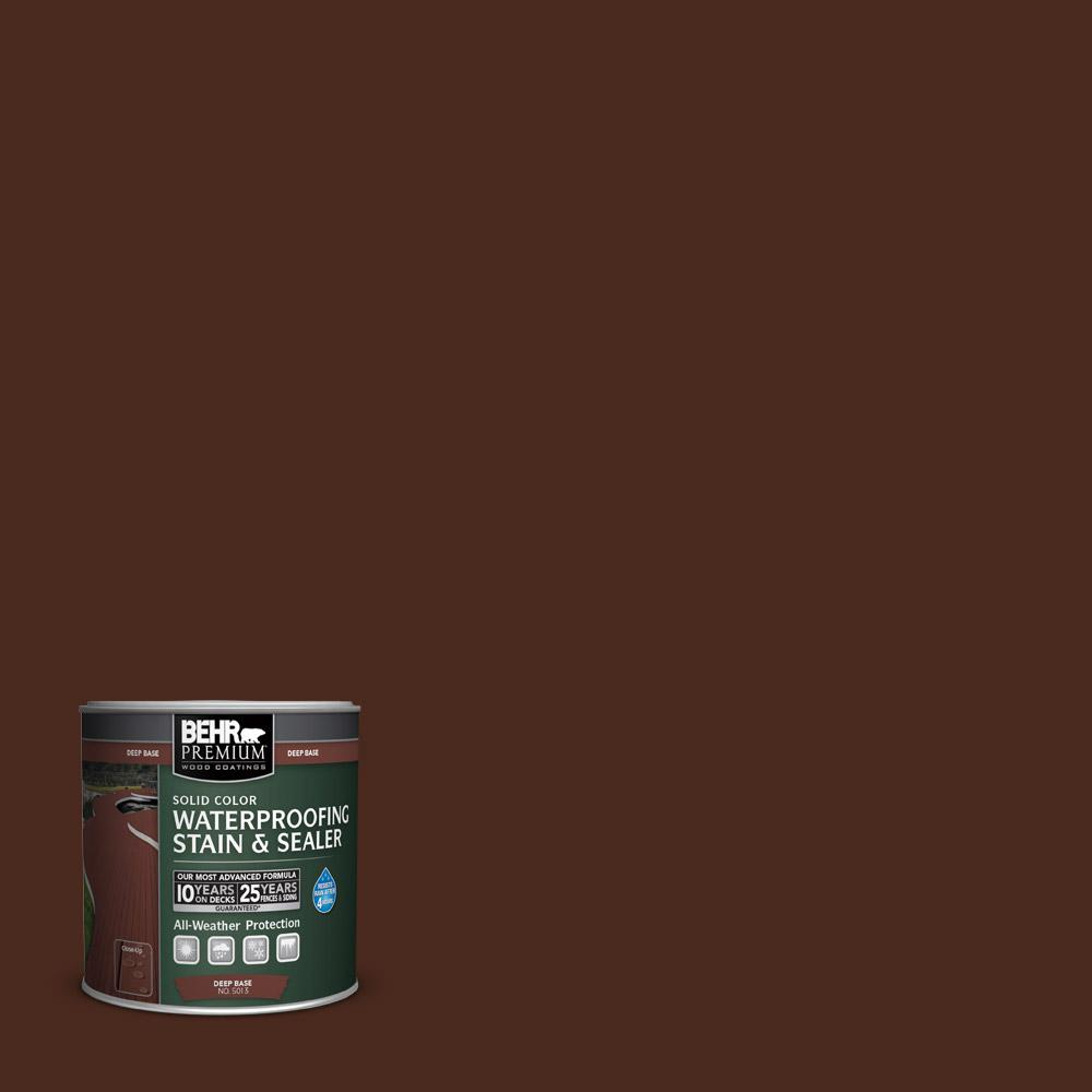 Sc 117 Russet Solid Color Waterproofing Exterior Wood Stain