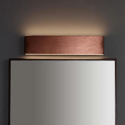 Ajax 20.25 in.  Anodized Bronze Dimmable Integrated LED Metal Wall Sconce