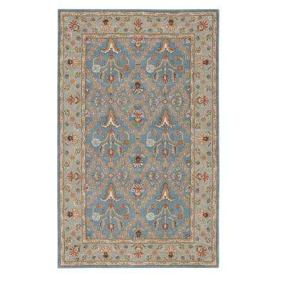 Menton Seaside Blue 10 ft. x 14 ft. Area Rug