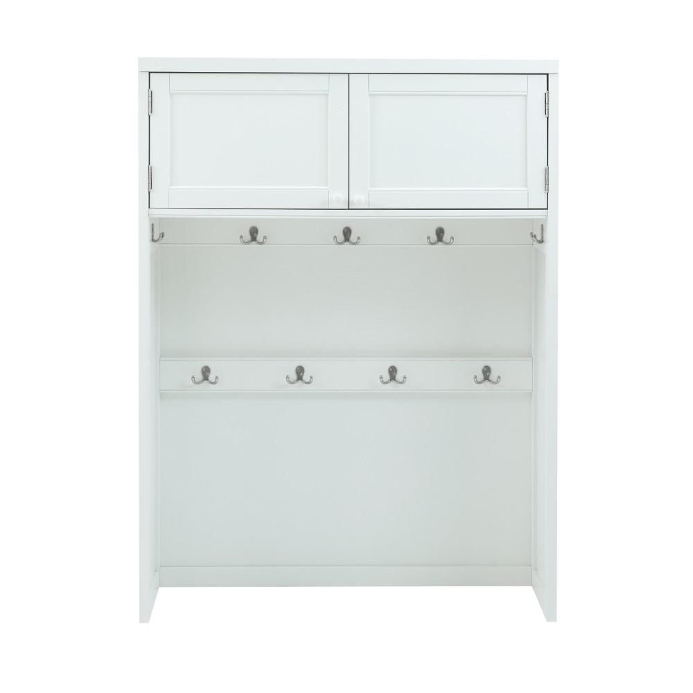 53.5 in. x 40 in. Hutch in Picket Fence