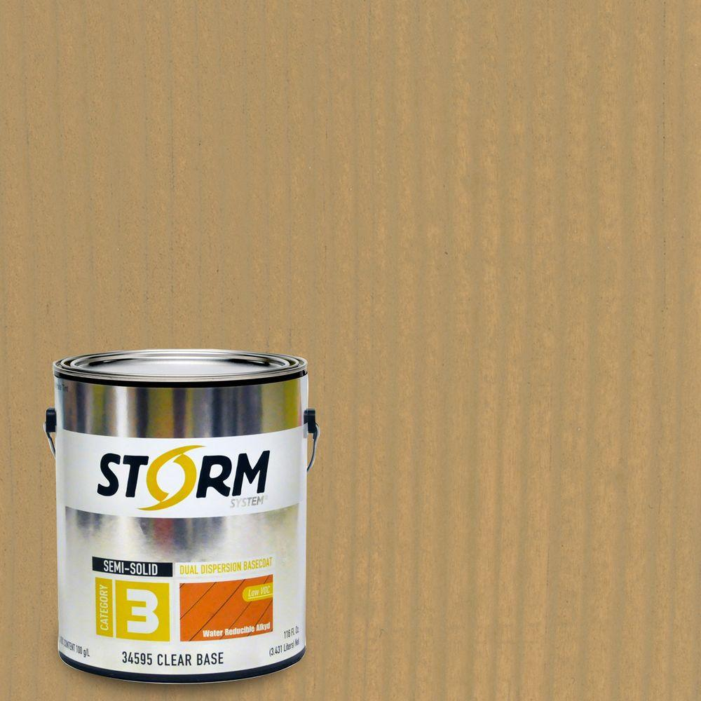 Storm System Category 3 1 gal. Cedar Walk Exterior Semi-Solid Dual Dispersion Wood Finish