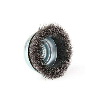 5 in. Crimped Cup Brush with 5/8 in. -11 UNC