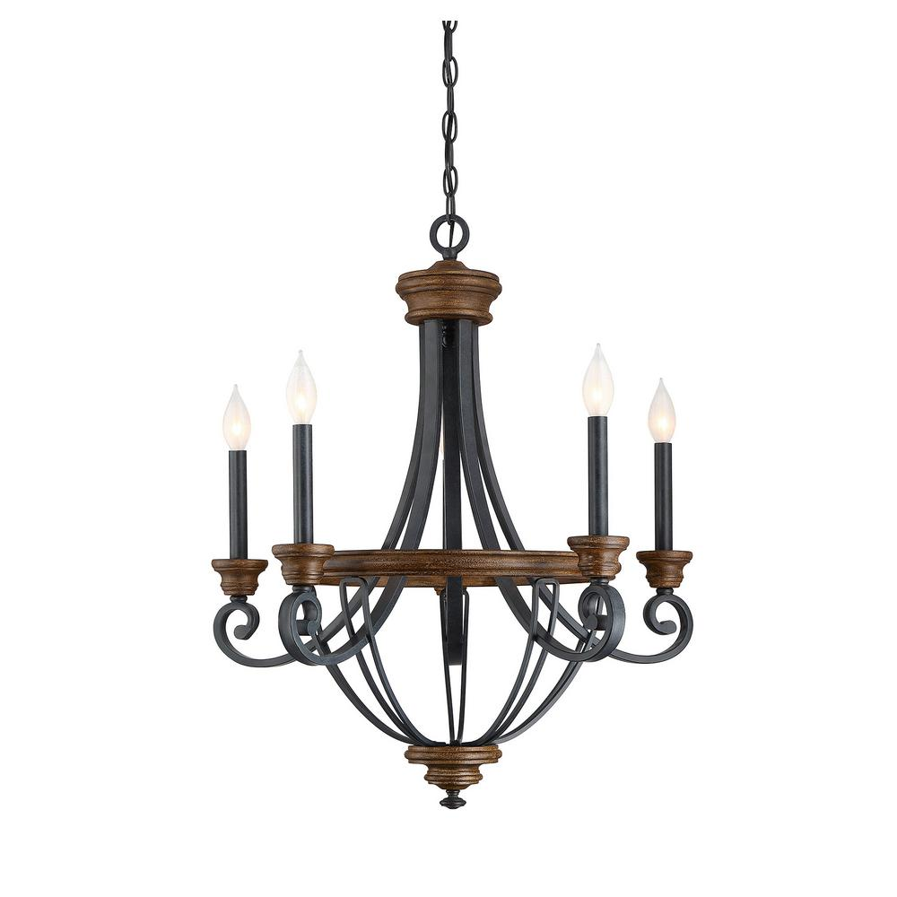 filament design 5-light whiskey wood chandelier-ect-sh255991
