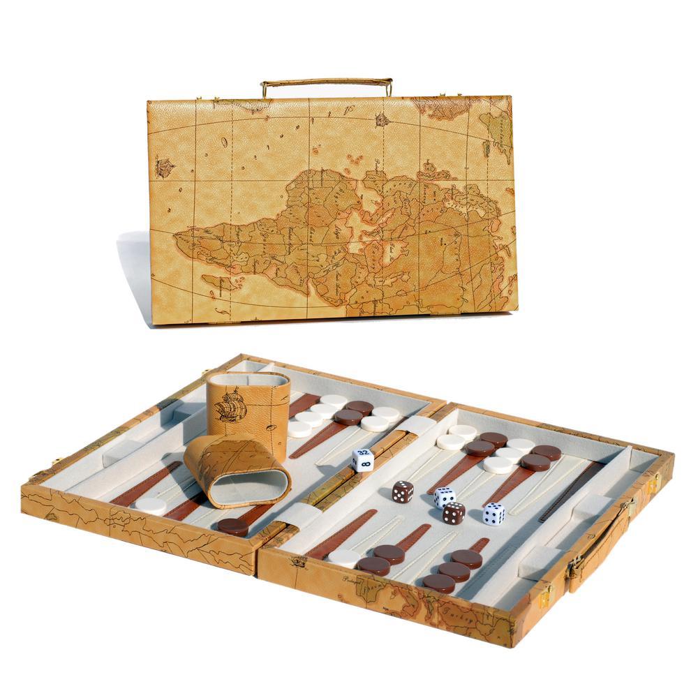 Tan Map Style Backgammon