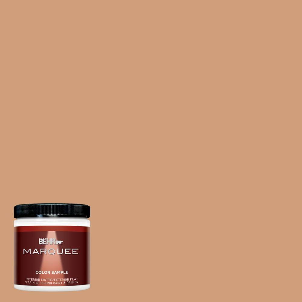 8 oz. #T12-4 Darlin Clementine Matte Interior/Exterior Paint Sample