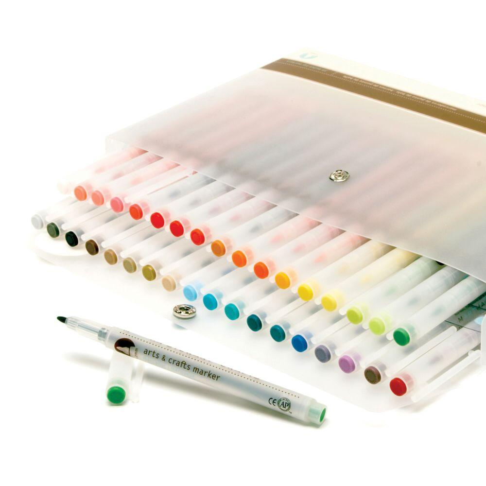 Home Decorators Collection Crafts Blendable Markers Set of 36