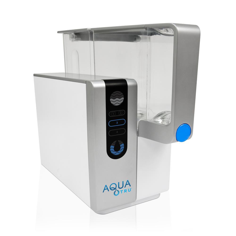 aquatru reverse osmosis counter top water purifier-at2000 - the home ...