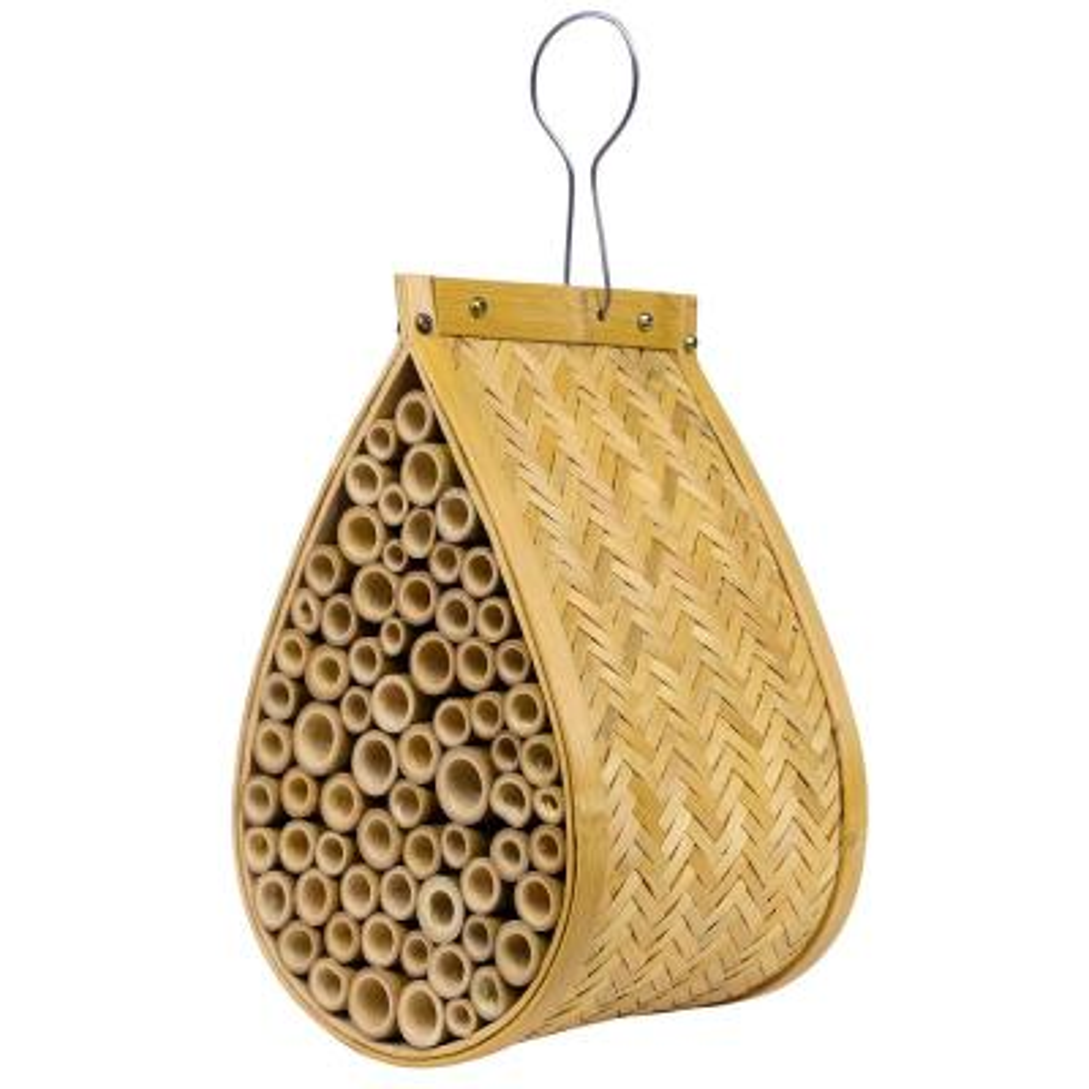 10 in. Tall Alpine Mason Bamboo Bee House