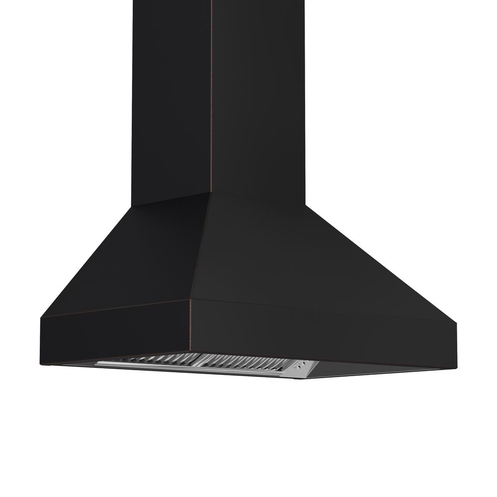 ZLINE Kitchen and Bath 36 in. Wall Mount Range Hood in Oil-Rubbed Bronze with Copper Accents
