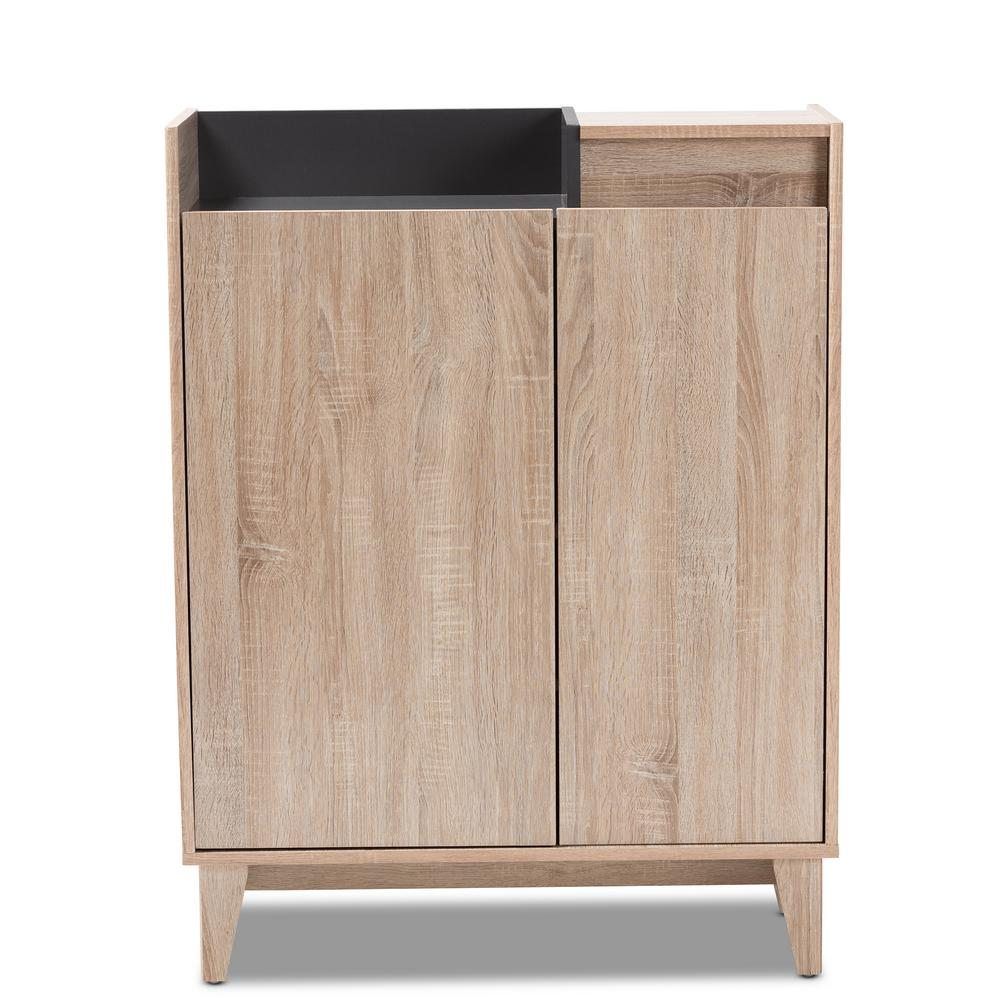 Fella 41 in. H x 32 in. W 10-Pair Oak and