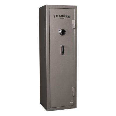 8-Gun Fire-Resistant Combination Gun Safe, Gray